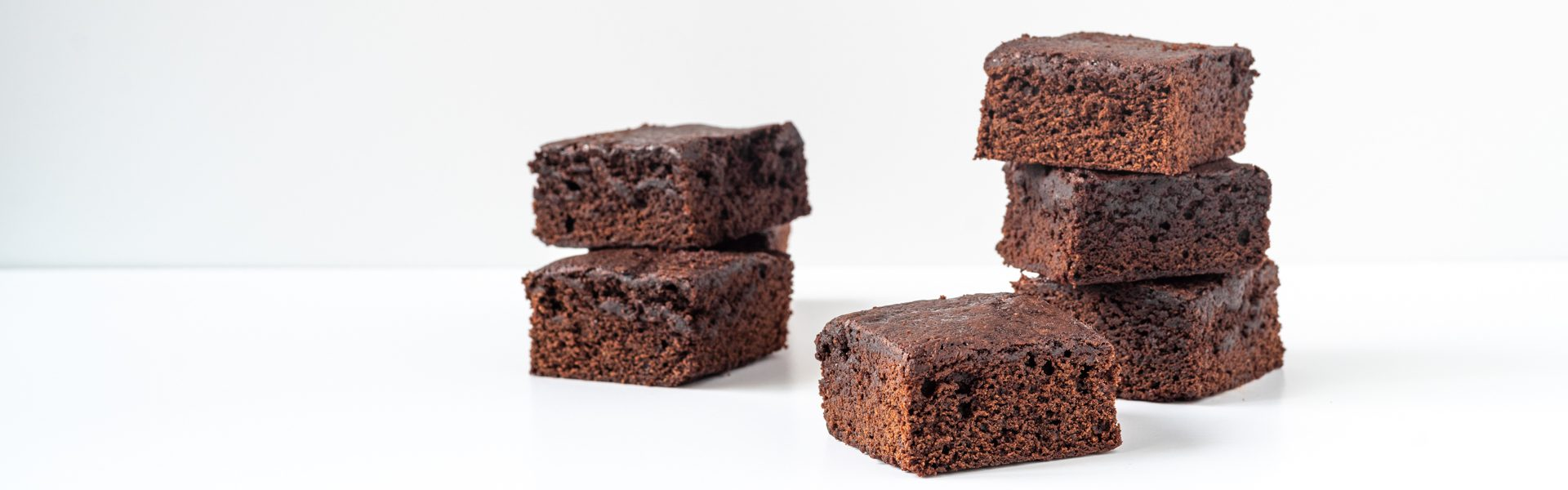 How to make fudgy brownies with less sugar and fat with Sunsweet prune puree and prune juice concentrate