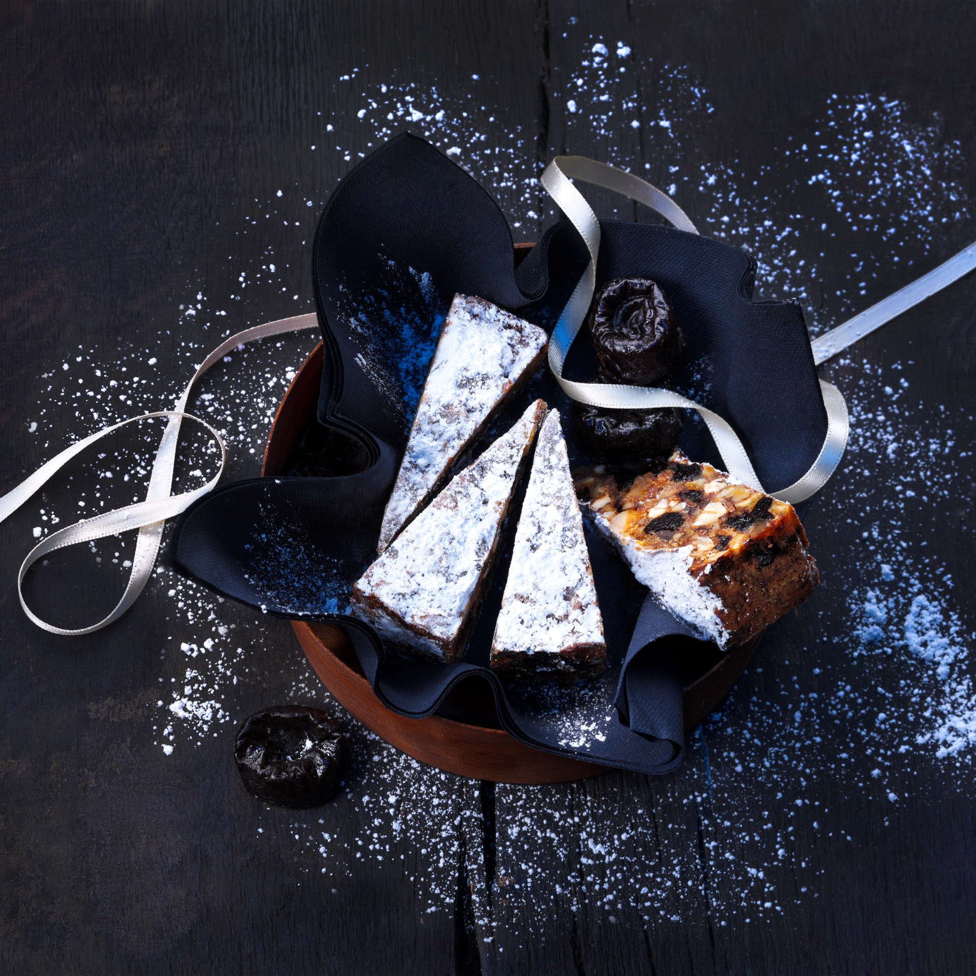<p>This sumptuous Italian winter recipe is packed with fruits and nuts and is sure to add to your baking repertoire. Panforte can be served at the end of a meal with tea or coffee or packaged for the holiday gift-giving season.</p>