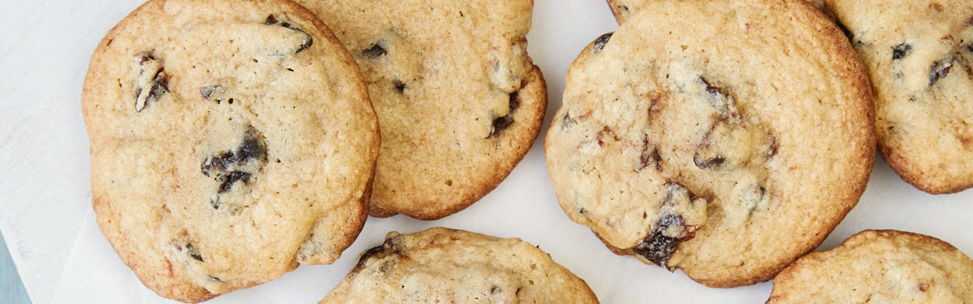 <p>Brown sugar, cinnamon, orange, and Prune Bits give this simple, buttery cookie a unique chewy texture. For less sugar and a deeper caramel color, add 10 g [1 tablespoon] Prune Juice Concentrate in place of 40 g [1/4 cup] brown sugar.</p>