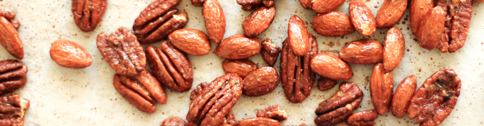<p>Adding Fresh Plum Concentrate and honey to roasted nuts deepens the caramelization without as much stickiness as using honey alone. The result is an addictive, lightly sweet snack that maintains its crunchy texture.</p>