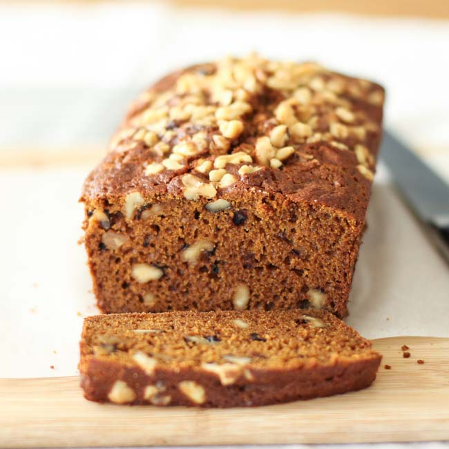 <p>This gluten-free version of the popular pumpkin bread served at coffee bars across the United States relies on the combination of the pumpkin and the Prune Juice Concentrate for texture. The two ingredients together bind moisture and enhance structure, eliminating the need for xanthan gum. Unlike many gluten-free baked goods, this bread stays moist for [&hellip;]</p>