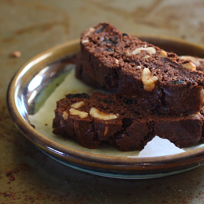 <p>Diced Dried Plums and espresso powder add richness while whole wheat flour draws out nutty flavor in afternoon snack-worthy biscotti.</p>