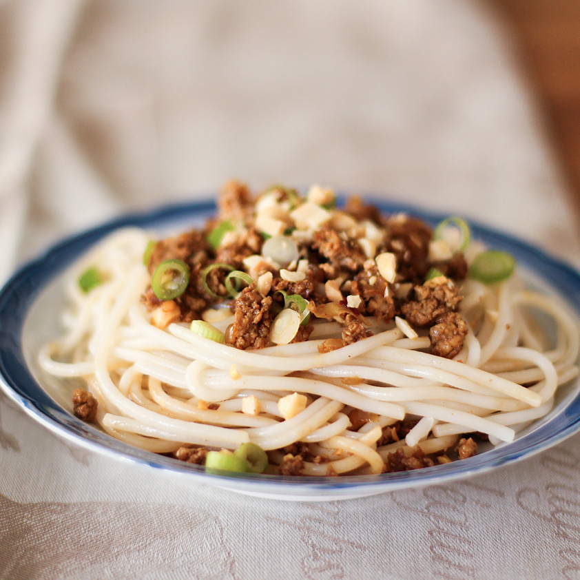 <p>The spices of these Chinese-style rice noodles are enhanced by a small addition of Prune Juice Concentrate. The rich flavors also help cut back on the total amount of soy sauce needed in this dish. For the most authentic experience, serve with a side of pickled Chinese mustard greens.</p>