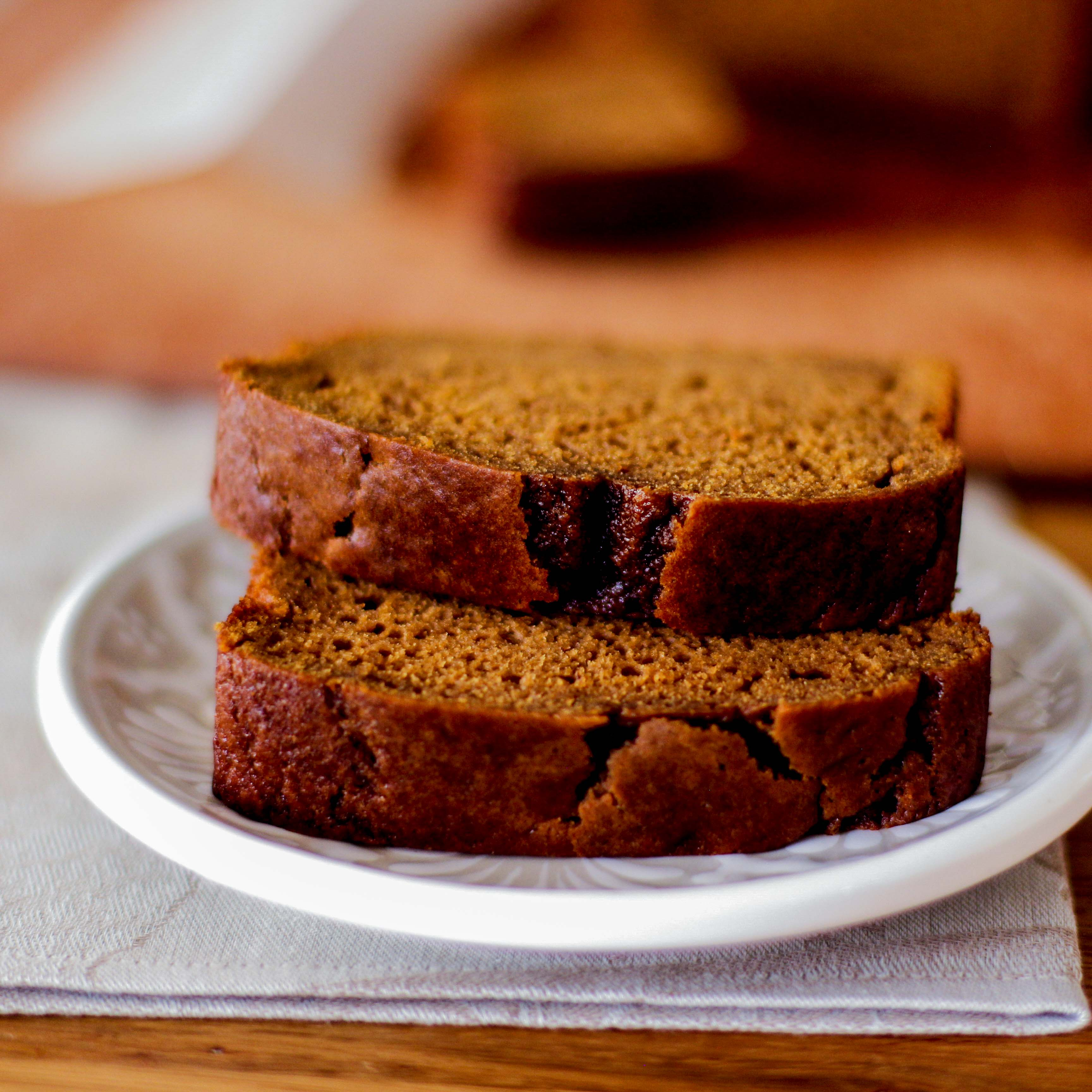 <p>This recipe mimics the popular pumpkin bread served at coffee bars across the country. Compared to a typical pumpkin bread, this recipe is 20% lower in fat and sugar, but it&#8217;s still rich in flavor thanks to Prune Juice Concentrate. This version is dairy-free, although melted butter can also be used in place of the [&hellip;]</p>