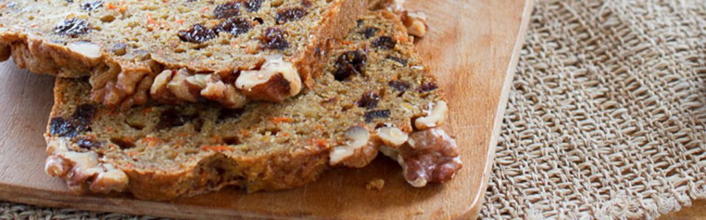 spiced prune and carrot quickbread
