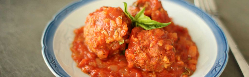 turkey and rice meatballs recipe