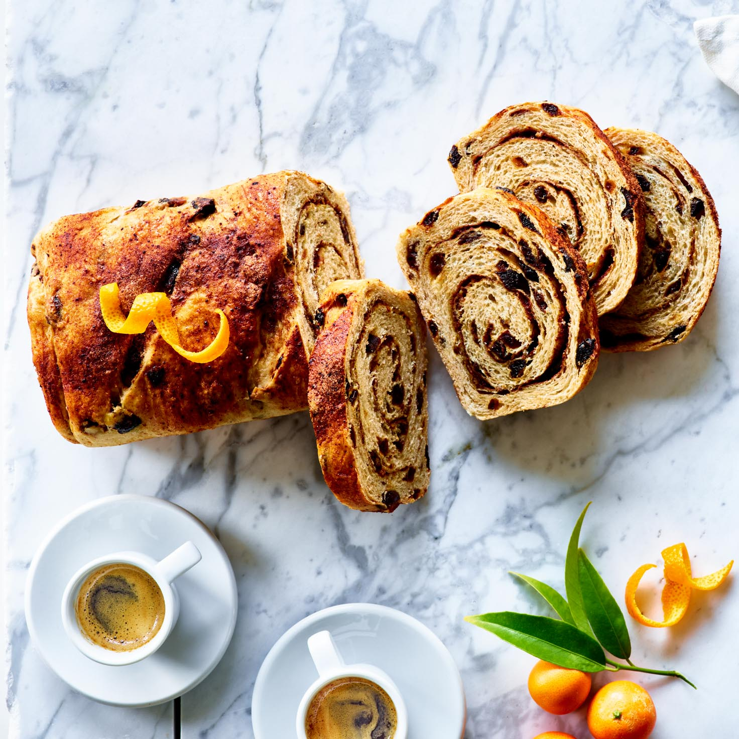 <p>Using prunes instead of raisins offers a deeper caramel flavor to classic swirl bread while dried plum powder helps heighten the flavor of the cinnamon. </p>