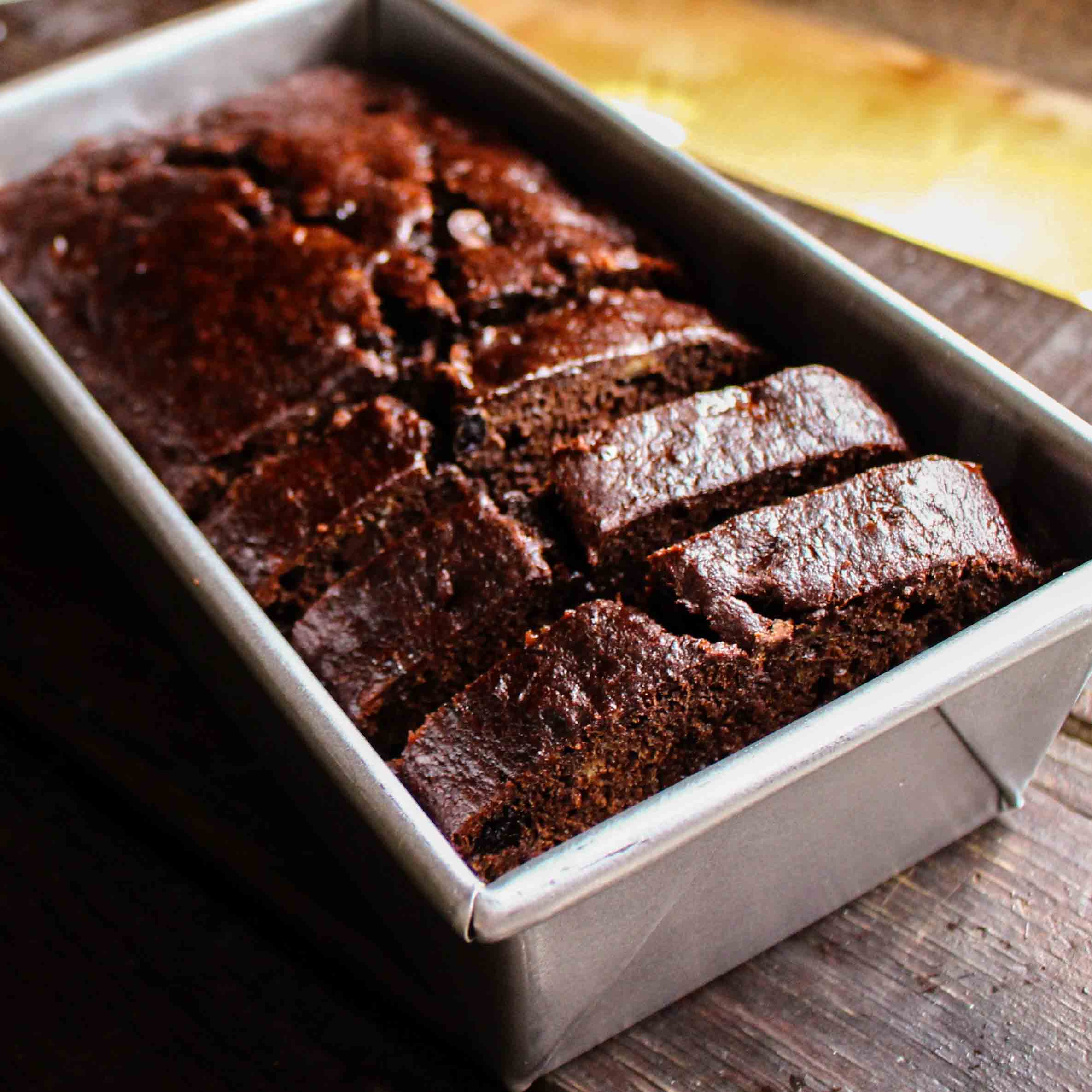 <p>Although it's vegan, this cake delivers a rich mocha-chocolate flavor thanks to Dutch-process cocoa and Dried Plum Puree.</p>