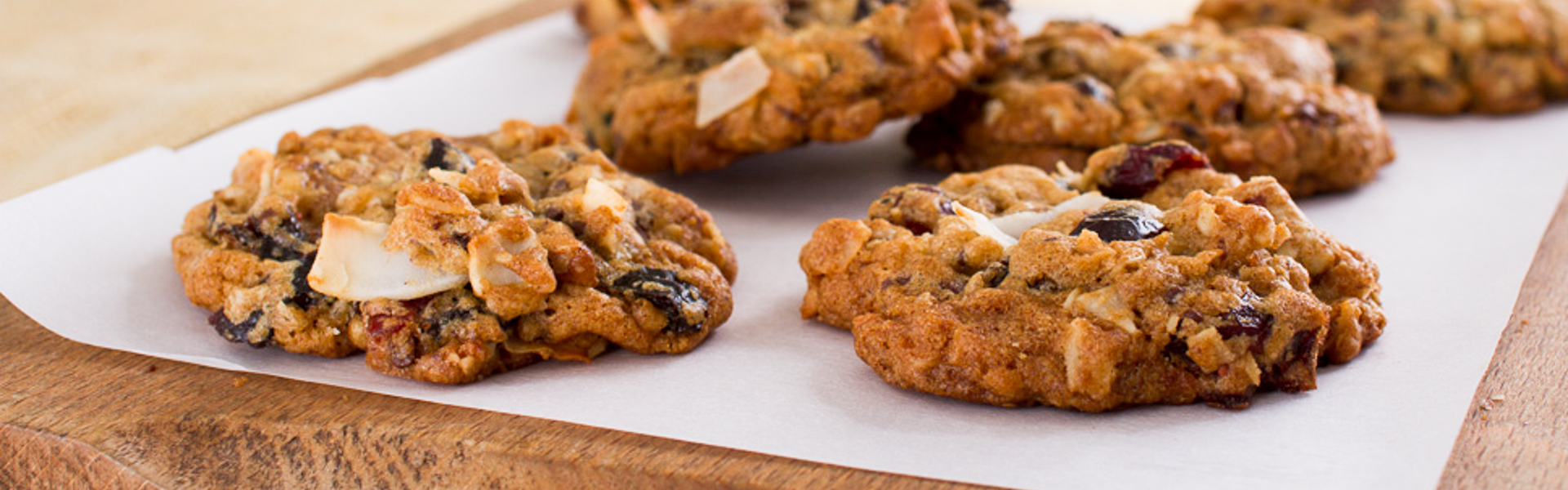 <p>Handfuls of prunes, nuts, chocolate, and coconut come together to make a rich, chewy, flavorful cookie inspired by trail mix.</p>