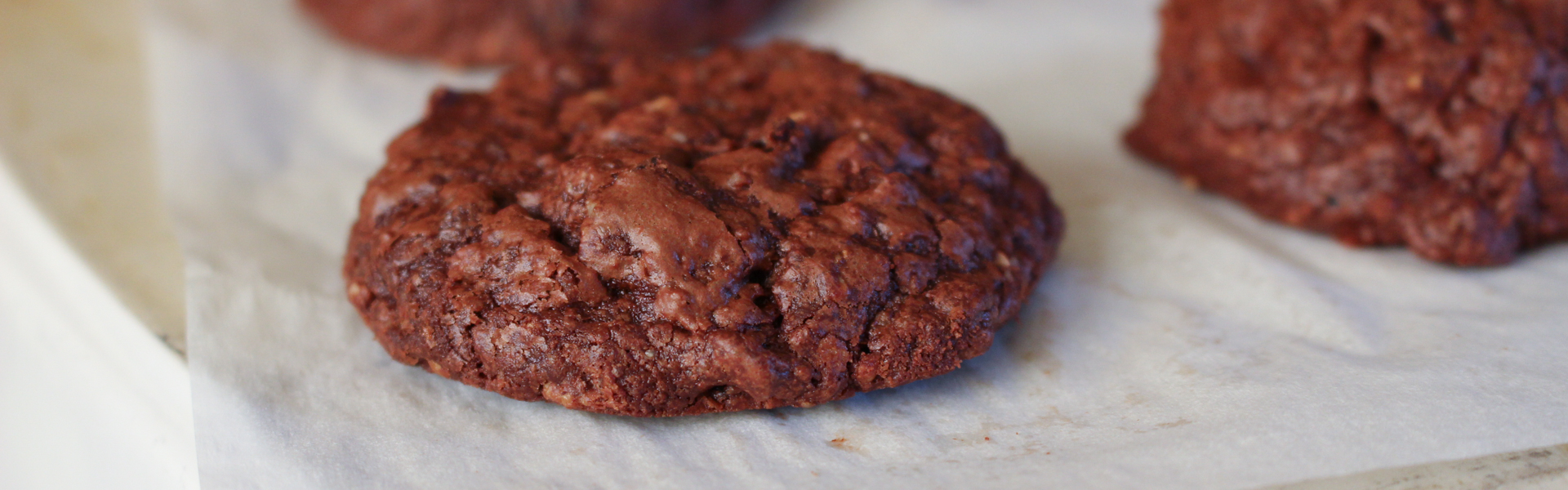 <p>Ground walnuts and hazelnuts take the place of flour in this gluten-free, deeply chocolate cookie. Each cookie also has the equivalent of one prune.</p>