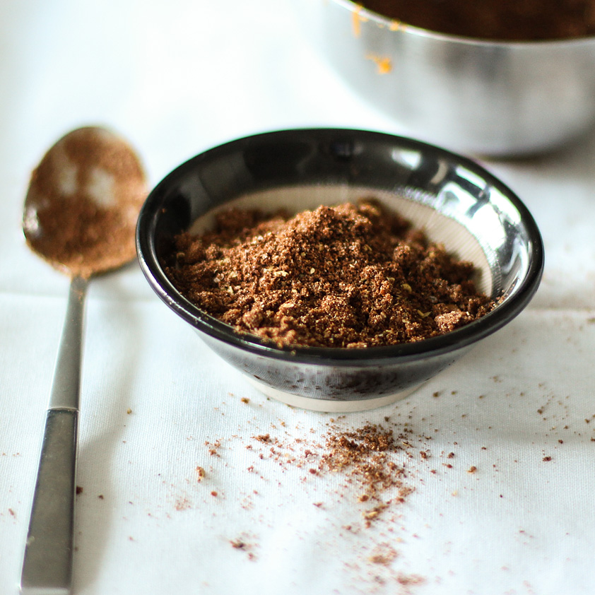 <p>Dried Plum Powder draws out the aromatics of Star Anise and Szechwan Peppercorns in this Chinese-inspired rub.</p>