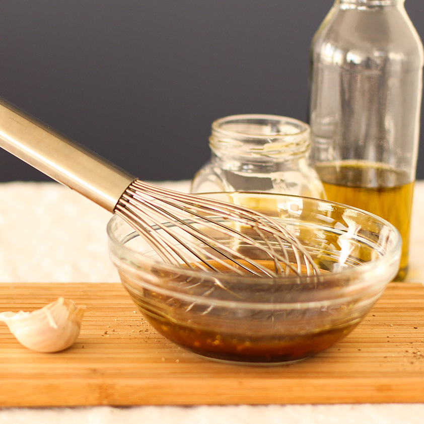 <p>Using Prune Juice Concentrate with standard balsamic vinegar mimics the richness of imported aged balsamico from Italy. When used in a vinaigrette, the overall flavor is rounded, sweet, and savory.</p>